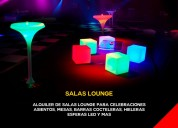 Salas led y salas lounge