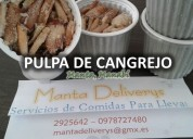 Carne de cangrejo en tarrina (1lb)