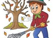 Soy jardinero y mantenimiento
