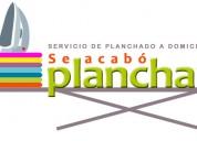 Servicio de planchado a domicilio en cuenca 098.374.21.52