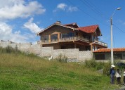 Vendo terreno en chaullabamba 1050m2 lotizado 0996722881--4024014 listo para construir