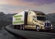 Servicio de mudanzas profesionales y transporte a nivel nacional
