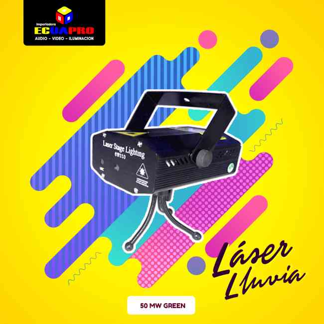 Laser Lluvia de venta en ECUAPRO