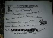Maestro electricista gasfitero