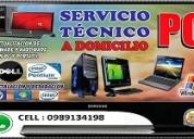 Servicio tecnico de computadoras a domicilio guayaquil whatsapp 0989134198