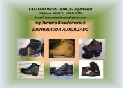 calzado industrial con punta de acero