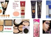 Lote 100 piezas marcas surtidas: milani, covergirl, black radiance, milani y otras