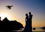 Tomas con drone y edición de video