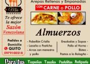Comida venezolana a domicilio