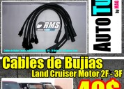 Cables bujias toyota land cruiser macho machito 2f - 3f