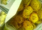 vendo rosas flores por paquetes de 24 unidades bonches