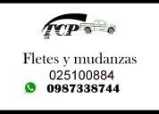 Servicio de alquiler de camiones para fletes y mudanzas