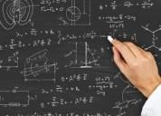 Clases particulares de matemáticas y fisica