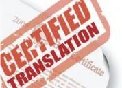 Traducciones certificadas y notariadas de ruso, portugués e ingles telf: 0996640737