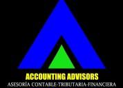 Asesoría contable ,tributaria ,finaciera,legal.