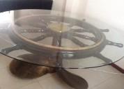 Vendo  de  oportunidad mesa con hélice náutica   de bronce,guayaquil