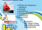 Autocad y solidworks riobamba