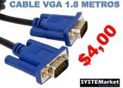 Cable vga 1.8 metros riobamba