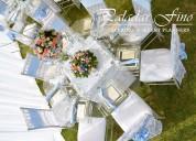 Alquiler de toldos mesas de madera vintage mesas de vidrio sillas tiffany pistas de baile