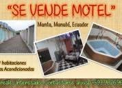 Se vende #motel en #manta