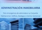 Administracion de conjuntos habitacionales oficinas, locales, etc