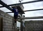 Maestro soldador en extructura metalicas