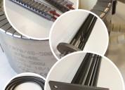 Fabricacion de resistencias electricas tipo abrazadera de mica Ó ceramica