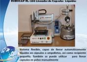 Encapsuladora manual, semiautomatica