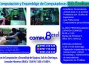 Curso de ensamblaje de computadoras e impresoras personalizadas