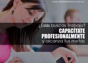 curso de asistente ejecutiva y secretariado.