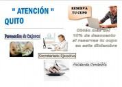 curso de secretariado  y asistente ejecutivo.