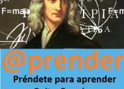Profesoras y profesores politécnicos ofrecen clases a domicilio de matemática, física, etc. desde