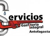 Servicios de gasfitera y electricidad