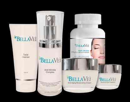 Kit Cremas Bellavei 5 Productos Incluye Fitoceramida