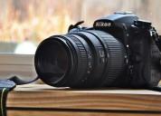 Fotografía digital y manejo de cámara.