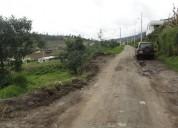 Se vende en otavalo 4013 m2 en el sector rural comunidad guananci