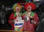 Show divertidos payasos, animacion fiestas infantiles, quito, mago, mimo, inflables, saltarines