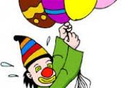 Divertidos show payasitos, fiestas infantiles quito, mago, horas locas, baby shower, saltarines