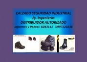 calzado de seguridad industrial