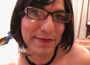 Travesti pasiva de closet busca nuevas experiencias