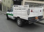 Servicio de mudanzas, transporte de insumos y materiales.