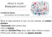 Clases de inglés con profesor extranjero de los estados unidos