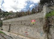 Vendo terreno en otavalo cerca a la copacabana