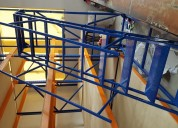Escalera rodante de uso industrial