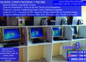 venta de computadoras nuevas y veloces para su negocio