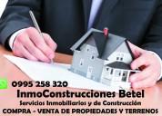 Servicios inmobiliarios via internet -online
