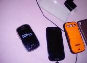 Teléfonos sony y. samsung