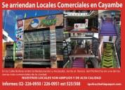 Tu centro de negocios en cayambe.