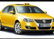 Compro taxi convencional con acciones y derechos