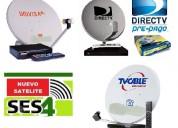 Directv prepago instalaciones antenas satelitales servicio tec. 24 horas